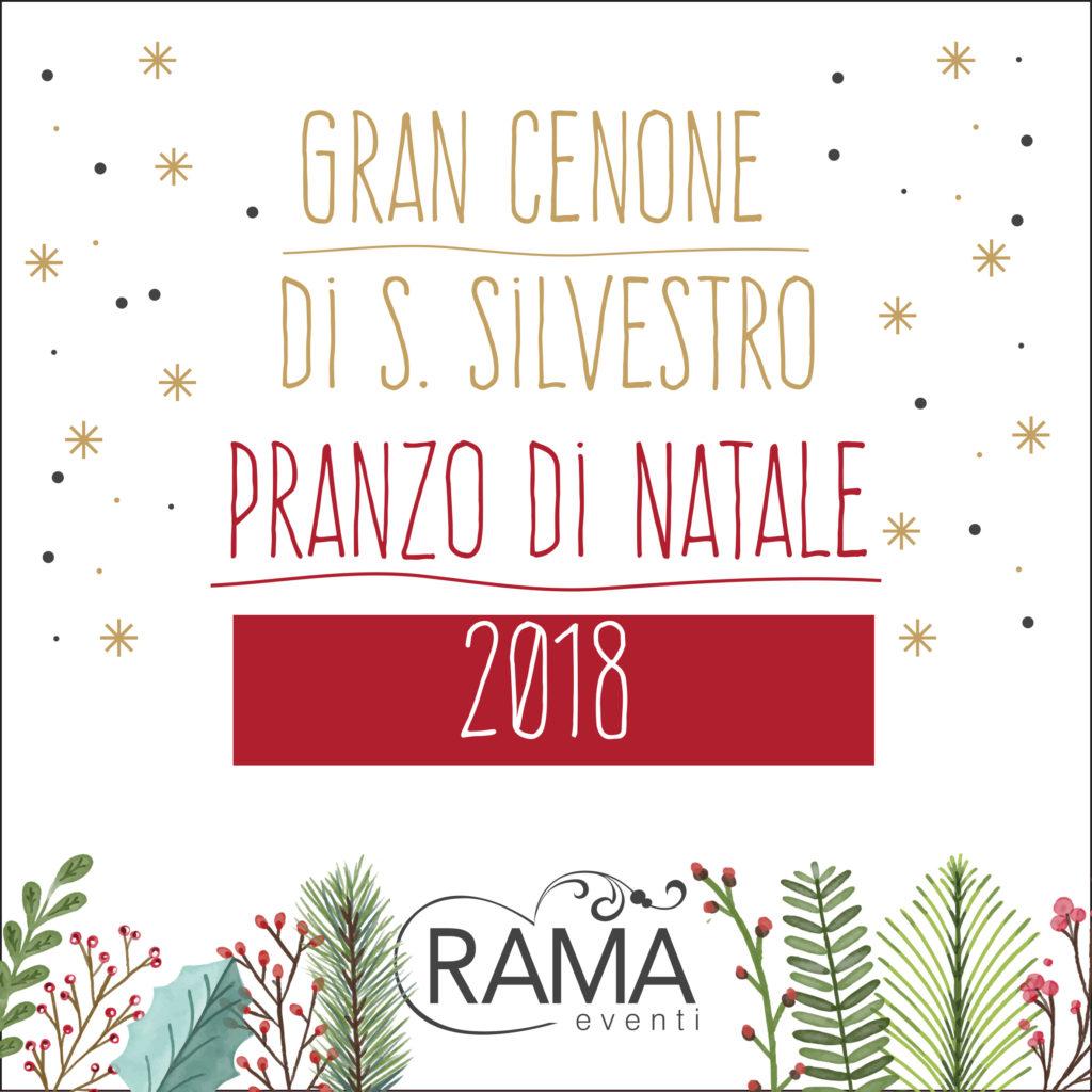 Menu Di Natale Cenone.Menu Di Natale E Cenone Di San Silvestro 2018 Rama Eventi